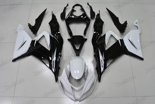 2013 2014 2015 2016 2017 2018 Kawasaki Ninja ZX6R white and black