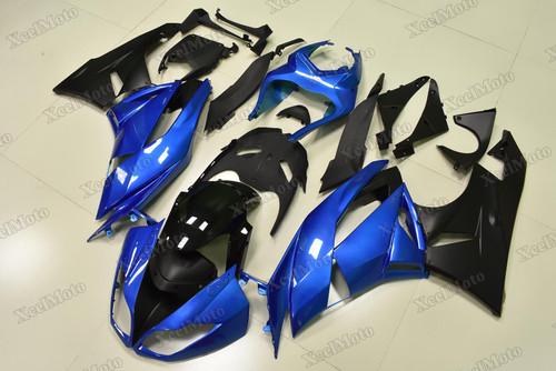 2009 2010 2011 2012 Kawasaki Ninja ZX6R blue and black