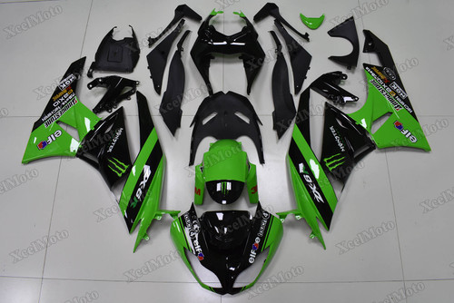2009 2010 2011 2012 Kawasaki Ninja ZX6R monster graphic fairings