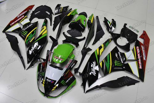 2009 2010 2011 2012 Kawasaki Ninja ZX6R Kawasaki racing team color scheme