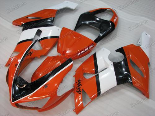 2005 2006 Kawasaki Ninja ZX6R orange