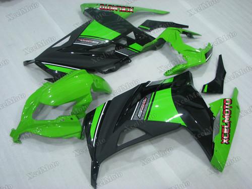 Kawasaki Ninja 300 special edition fairings and body kits, 2013 to 2017 Kawasaki Ninja 300 OEM replacement fairings and bodywork.