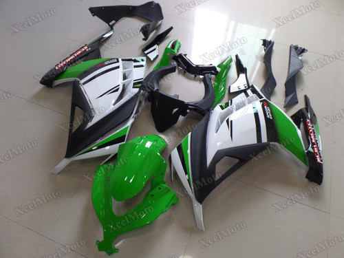 Kawasaki Ninja 300 30th anniversary fairings and body kits, 2013 to 2017 Kawasaki Ninja 300 OEM replacement fairings and bodywork.