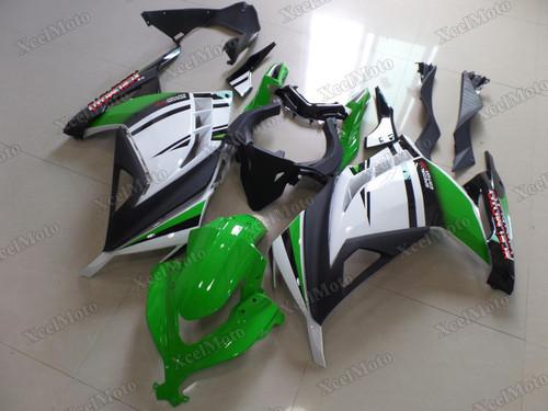 Kawasaki Ninja 300 30th anniversary fairings and body kits, 2013 to 2017 Kawasaki Ninja 300 OEM replacement fairings and bodywork.