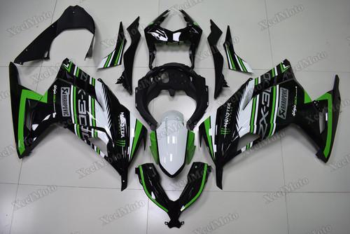 Kawasaki Ninja 300 Kawasaki Racing Team replica fairings