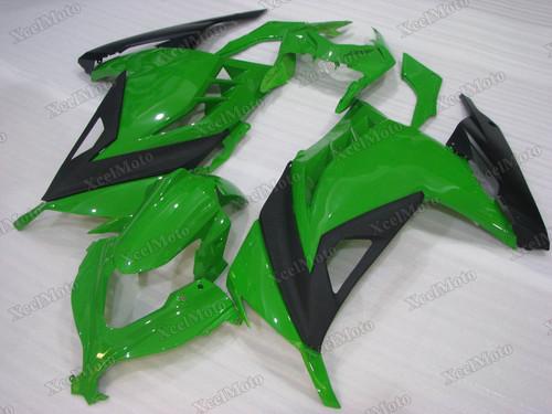 Kawasaki Ninja 300 green fairings