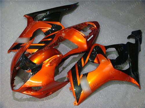 2003 2004 SUZUKI GSXR1000 GIXXER K3 K4 orange and black fairing