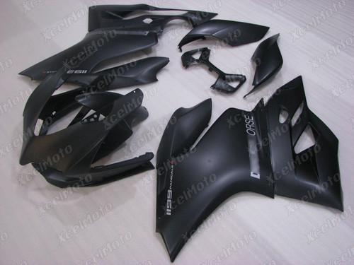 Ducati 899 1199 Panigale matte black fairing