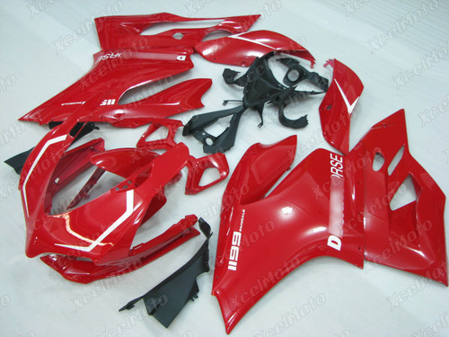 Ducati 899 1199 Panigale red fairing