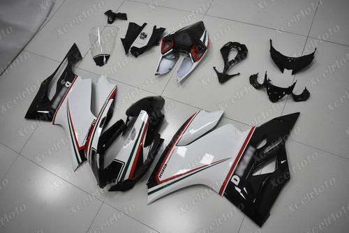 Ducati 899 1199 Panigale tricolore nero fairing