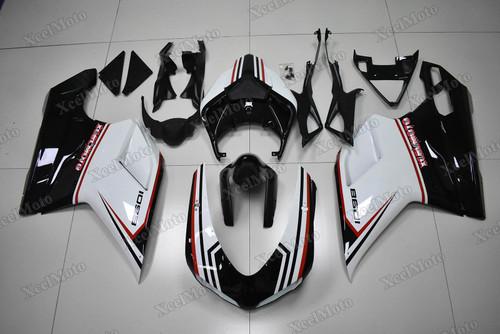Ducati 848 1098 1198 tricolore nero fairings