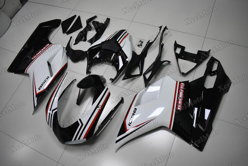 Ducati 848 1098 1198 black tricolore fairings and bodywork