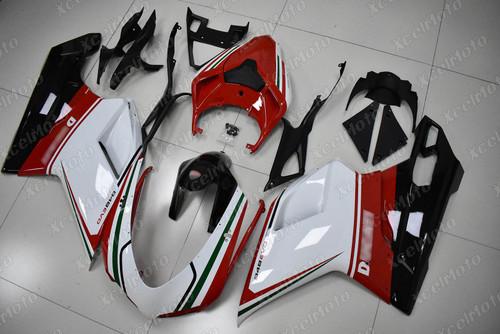 Ducati 848 EVO tricolore fairing.