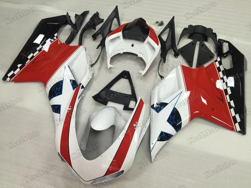Ducati 848 1098 1198 Nicky Hayden pattern fairings