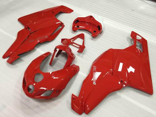 2005 2006 Ducati Testastretta 749/999 fairing in red