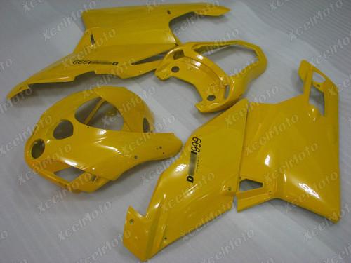 2005 2006 Ducati 749/999 yellow fairing
