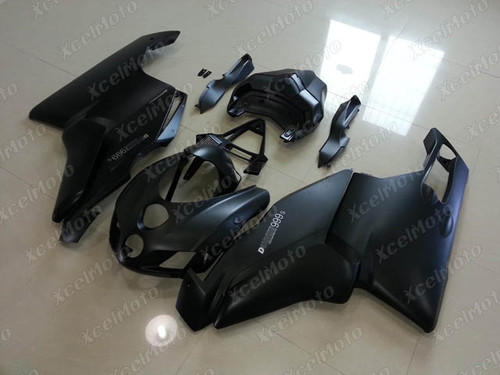 2005 2006 Ducati 749/999 matte metallic black fairing