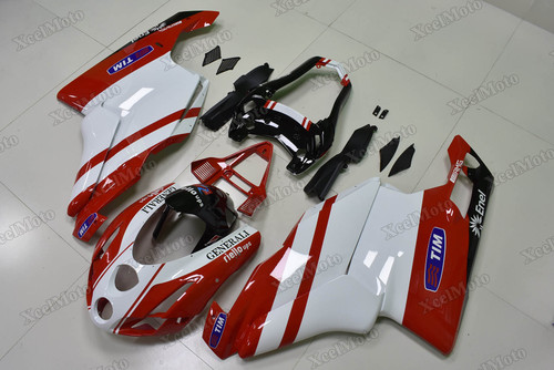 2003 2004 Ducati 749/999 red and white body plastic