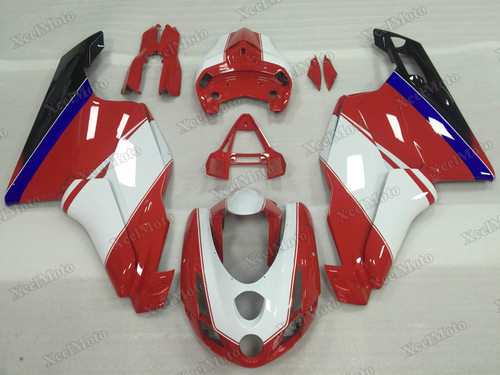2003 2004 Ducati 749/999 red and white fairings