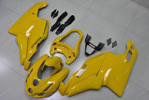 2003 2004 Ducati 749/999 yellow fairing