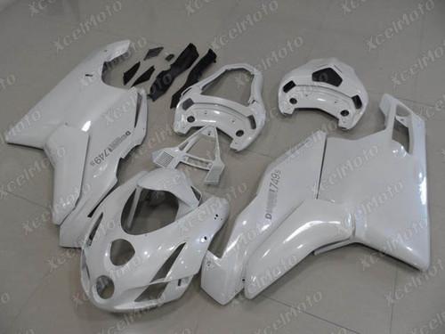 2003 2004 Ducati 749/999 pearl white fairing kit