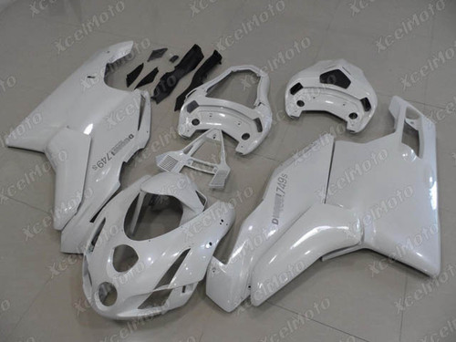 2003 2004 Ducati 749/999 pearl white fairing kit
