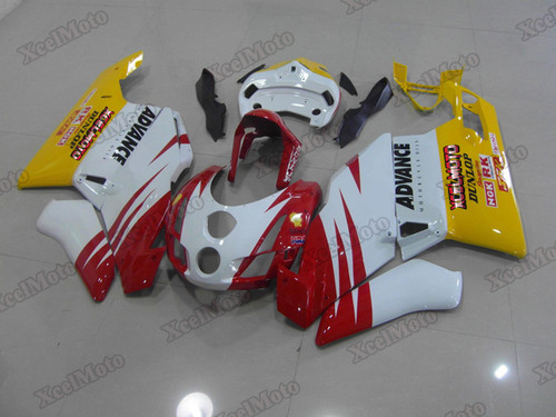 2003 2004 Ducati 749/999 red white and yellow and black fairings and body kits, 2003 2004 Ducati 749/999 OEM replacement fairings and bodywork.