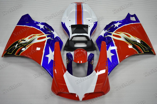 Ducati 749 916 996 998 Ben Bostrom fairings and body kits, Ducati 749 916 996 998 OEM replacement fairings and bodywork.