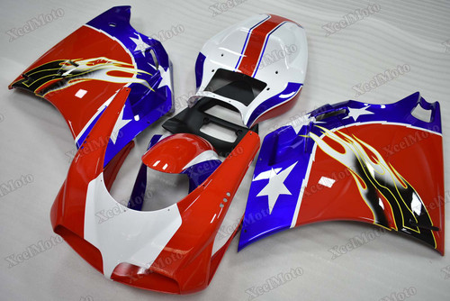 Ducati 749 916 996 998 custom fairings and bodywork