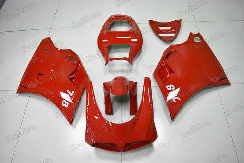 Ducati 749 916 996 998 Desmoquattro red fairings and bodywork
