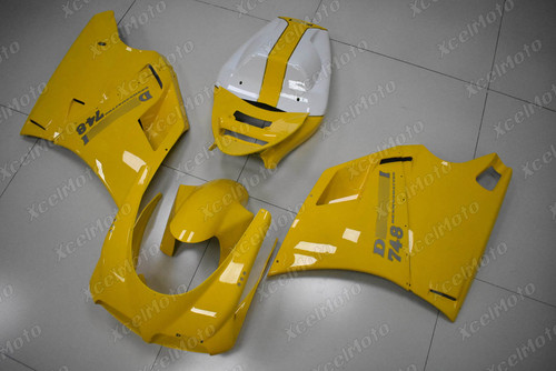 Ducati 748/916 Desmoquattro yellow fairing.