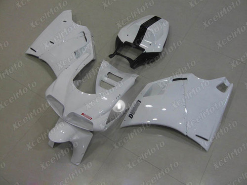 Ducati 749 916 996 998 pearl white fairings and body kits, Ducati 749 916 996 998 OEM replacement fairings and bodywork.
