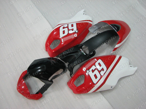 Ducati Monster 696 796 1100 Nicky Hayden fairing.