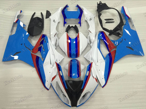 2015 2016 BMW S1000RR white and blue