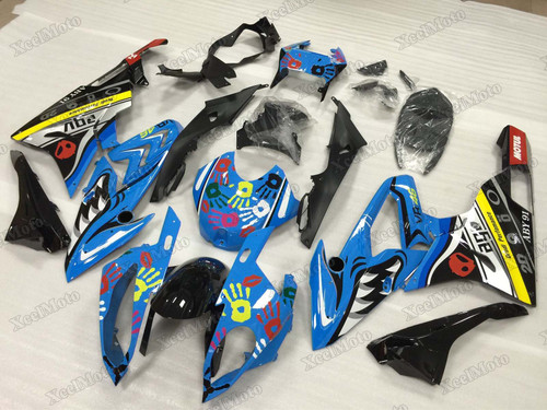 2015 2016 BMW S1000RR shark pattern fairings