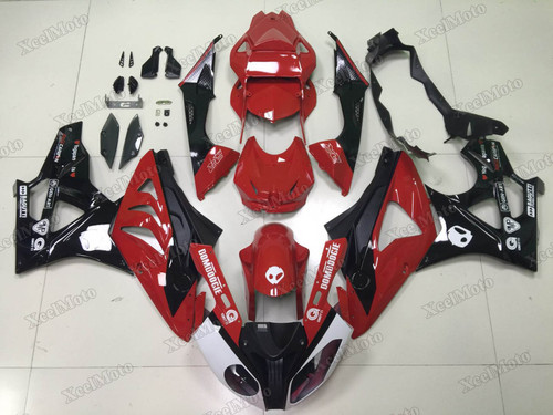 2009 2010 2011 2012 2013 2014 BMW S1000RR red and black fairings and bodywork