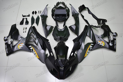 2009 2010 2011 2012 2013 2014 BMW S1000RR matte black shark fairing