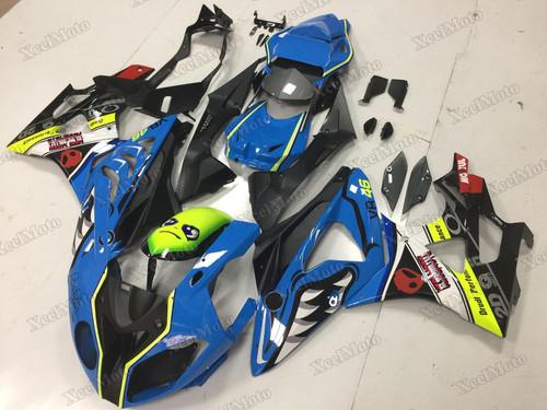 2009 2010 2011 2012 2013 2014 BMW S1000RR blue shark fairing