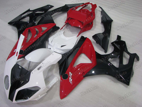 2009 2010 2011 2012 2013 2014 BMW S1000RR white red and black fairings