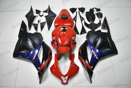 2009 2010 2011 2012 Honda CBR600RR red blue and black
