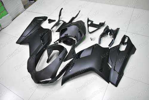 Ducati 848 EVO 1098 1198 matte black fairing