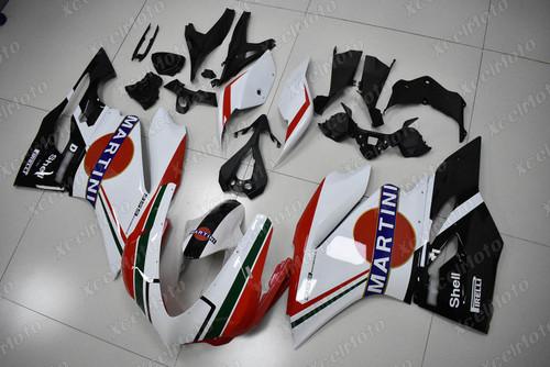 Ducati 959 Panigale Martini Tricolore fairing.