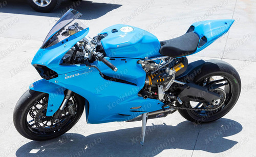 Ducati 899 1199 Panigale light blue fairings and body kit