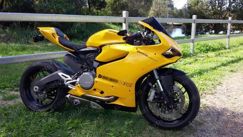 Ducati 899 1199 Panigale yellow fairings