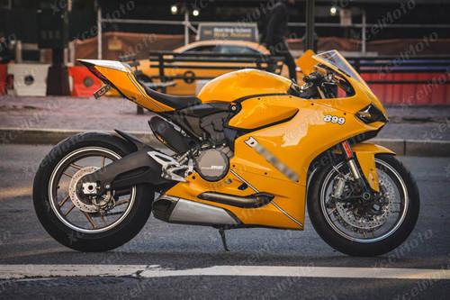 Ducati 899 1199 Panigale dark yellow fairing
