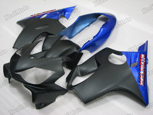 2004 2005 2006 2007 Honda CBR600F4i black and blue fairing