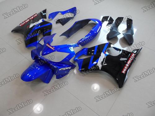 2004 2005 2006 2007 Honda CBR600F4i blue and black fairing set