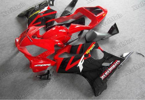 2001 2002 2003 Honda CBR600F4i red and black fairings