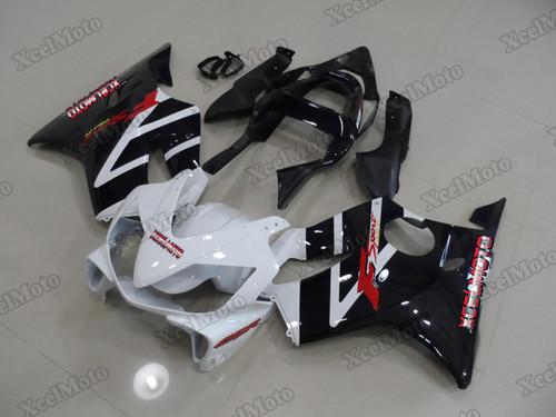 2001 2002 2003 Honda CBR600F4i white and black fairing kit
