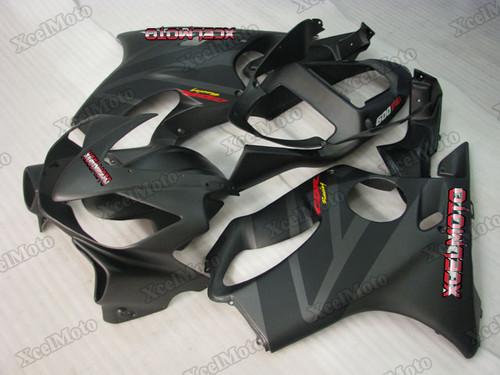 2001 2002 2003 Honda CBR600F4i matte grey and matte black fairing kit